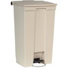 RUBBERMAID 23-Gallon Mobile Container - Beige