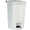 RUBBERMAID 23-Gallon Mobile Container - White