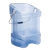 RUBBERMAID Safe Ice Ice Tote - Blue