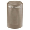 RUBBERMAID Designer Line™ Silhouette Paper Recycling Container - 26 Gal.