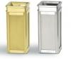 "RUBBERMAID Designer Line™ Ash/Trash Accent Container - 12"" Sq x 27"" H"