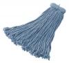 RUBBERMAID Premium 16 OZ. Bolt-On Cut-End Blend Mop - 12/C,  4-ply Cotton