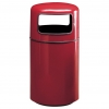 RUBBERMAID Covered Top Round Waste Receptacle - 20 Gal.