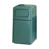RUBBERMAID FireFighter® Self-closing Push Door Waste Receptacle - 29 Gal.