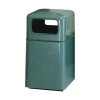 RUBBERMAID Covered Top Waste Receptacle - 29 Gal.