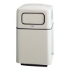 RUBBERMAID FireFighter® Self-closing Push Door Waste Receptacle - 40 Gal.