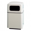 RUBBERMAID Covered Top Waste Receptacle - 40 Gal.