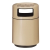 RUBBERMAID Foodcourt Covered Tray Top Waste Receptacle - 36 Gal.