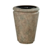 RUBBERMAID Milan Collection Tuscan Open Top Waste Receptacle - 33 Gal.
