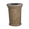 "RUBBERMAID Milan Planter - 24"" Dia x 19""H"
