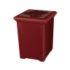 RUBBERMAID Tuscany Collection™ Square Design Waste Receptacle - 34 Gal.