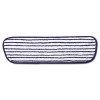 """RUBBERMAID 18""""Commercial Microfiber Finish Pad - Blue/White"""