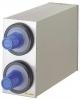 SAN JAMAR  EZ-Fit® Stainless Steel Beverage Dispenser Cabinet - w/ 2 Slot (C2410C )