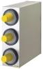 SAN JAMAR  EZ-Fit® Stainless Steel Beverage Dispenser Cabinet - w/ 3 Slot (C2410C )