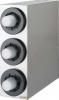 SAN JAMAR  Sentry® Stainless Steel Vertical Beverage Dispenser Cabinet - w/ 3 Tubes