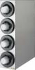 SAN JAMAR  Sentry® Stainless Steel Vertical Beverage Dispenser Cabinet - w/ 4 Tubes