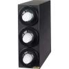 SAN JAMAR  Sentry® Beverage Dispenser Vertical Cabinet - 3 Black Trim Ring, 8 - 44 Oz.