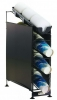 RUBBERMAID Wireworks™ 3 Tier Cup Dispenser & 1/Lid Organizer - w/ Side Panels
