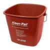 SAN JAMAR  Kleen-Pail® Sanitizing Pail - Red, 10 Qt.