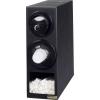 SAN JAMAR  Sentry® Beverage, Lid & Straw Vertical Dispenser Cabinet - w/ 2 Trim Rings