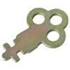 Metal Toilet Tissue Dispenser Key - Silver