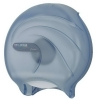 "SAN JAMAR  Oceans®9"" Single Roll Jumbo Toilet Tissue Dispenser - Arctic Blue"