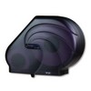 SAN JAMAR  JUMBO OCEANS® Reserva® Roll Bath Tissue Dispenser with Stub Roll Compartment - Black Pearl