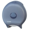 "SAN JAMAR  12"" Classic Single Roll Jumbo Toilet Tissue Dispenser - Arctic Blue"