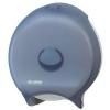 "SAN JAMAR  12"" Classic Single Roll Jumbo Toilet Tissue Dispenser - Arctic Blue"