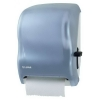 SAN JAMAR  Lever Classic Roll Towel Dispenser w/Auto Transfer - Arctic Blue