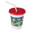 SOLO CUP Plastic Kid's Cup Combo Pack, Jungle Design -