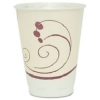 Trophy® Insulated Thin-Wall Foam Hot/Cold Drink Cups in Symphony™ Design - 8 OZ