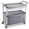 RUBBERMAID Commercial Utility Cart Replacement Parts - Door Kit w/ Lock