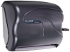 San Jamar® Oceans® Savvy™ Lever Roll Towel Dispenser with Auto Transfer Mechanism - Black Pearl
