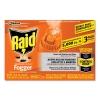Raid® Concentrated Deep Reach™ Fogger - 1.5 oz Aerosol Can, 3/Pack, 12 Packs/Carton