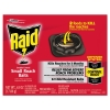 Raid® Roach Baits - 0.63 oz Box, 12/Carton