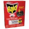 Raid® Roach Baits - 0.7 oz, Box, 6/Carton