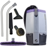 SSS ProTeam SuperCoach Pro 6 Backpack Vacuum - w/ 107100 kit