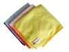"SSS NexGen 16""x16"" Yellow General Cleaning Microfiber Cloth - 300 grams"
