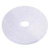 """SSS  White High Lustre Polishing Floor Pad - 27"""", 2/CS"""