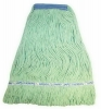 SSS Value Plus Blend Looped-End Wet Mop - S, Green