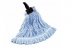 SSS Value Plus Blue & White Looped-End Finish Wet Mop - Blue & White