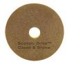 "SSS 3M Clean & Shine Pad - 13"", 5/CS"