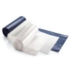 SSS Futura Super Flex HAO LLDPE Can Liner - 40x48, 1.4 Mil., Blue, 10 rolls, 10 bags per roll