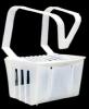 SSS Toilet Bowl Rim Hanger - w/ Cleaner Block, Apple
