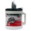 SSS GP Brawny Wiper Dispenser Bucket - Grey HD Blue DRC