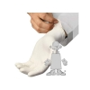 SSS Safety Zone Vinyl Exam Gloves 1C - Small