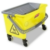 SSS Rubbermaid HYGEN™ Pedal Wring Bucket - Yellow