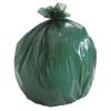 Stout Eco-Degradable Plastic Trash Bags - 33 Gal, Green