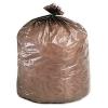 Stout Eco-Degradable Plastic Trash Bags - 39 Gal, Brown